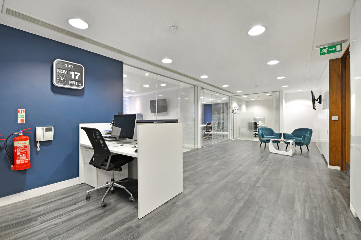 Maddox Street Office Fit Out