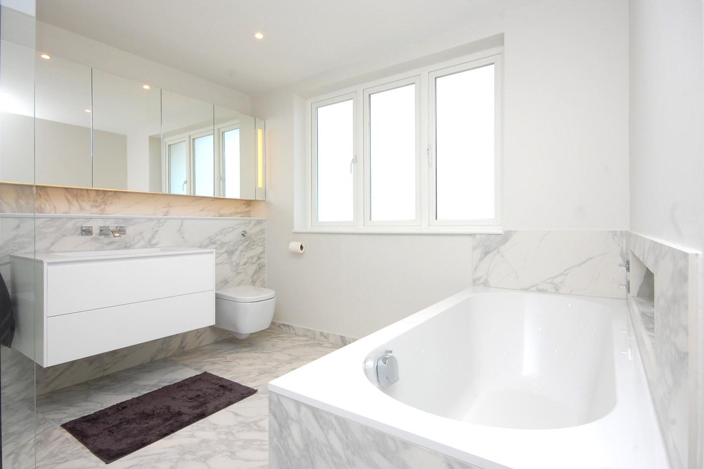Golders Green Residential Bathroom Refurbishment London Bath