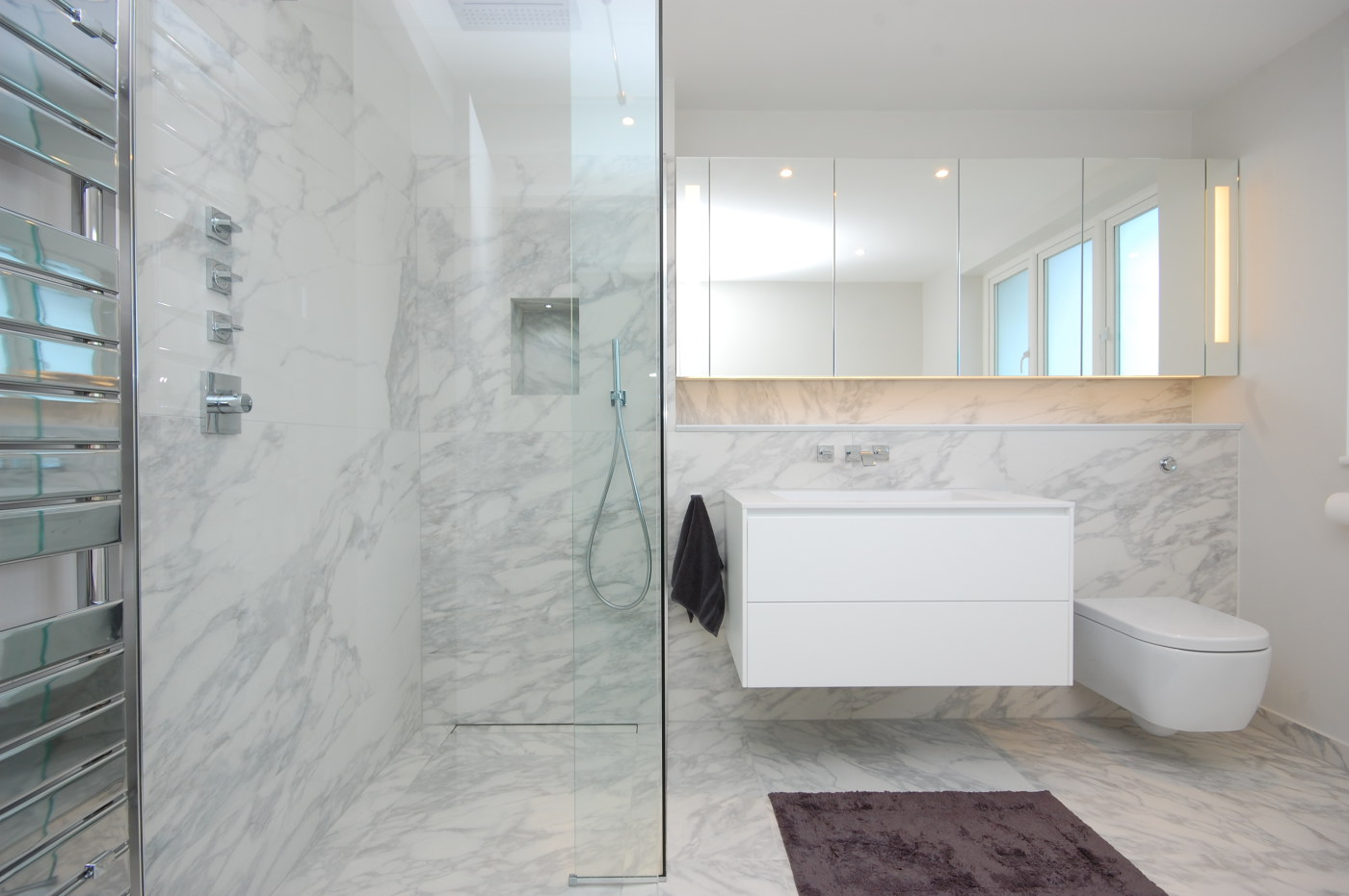Golders Green Residential Bathroom Refurbishment Shower Room