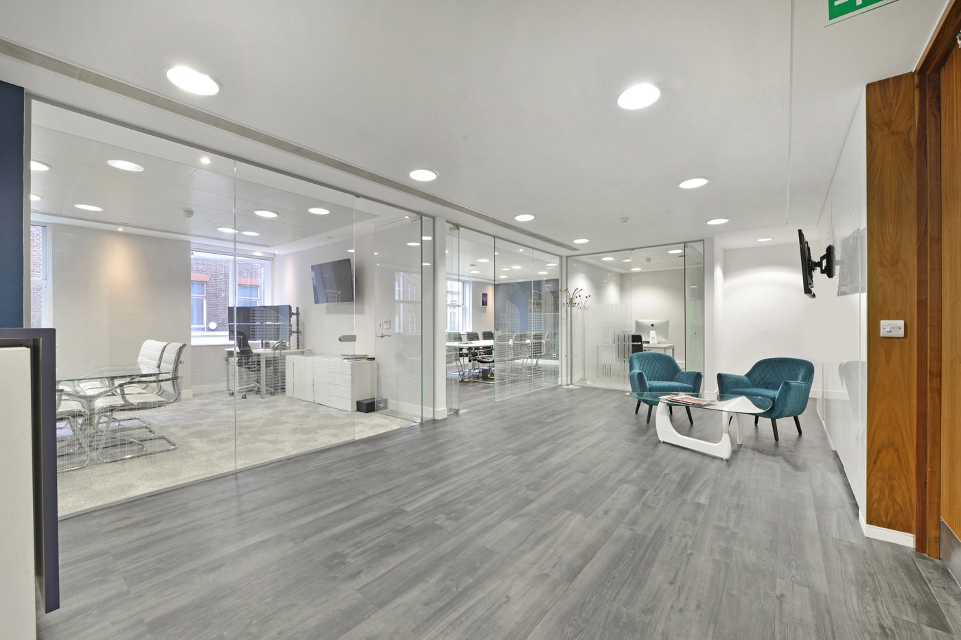 Maddox Street Office Reception Space