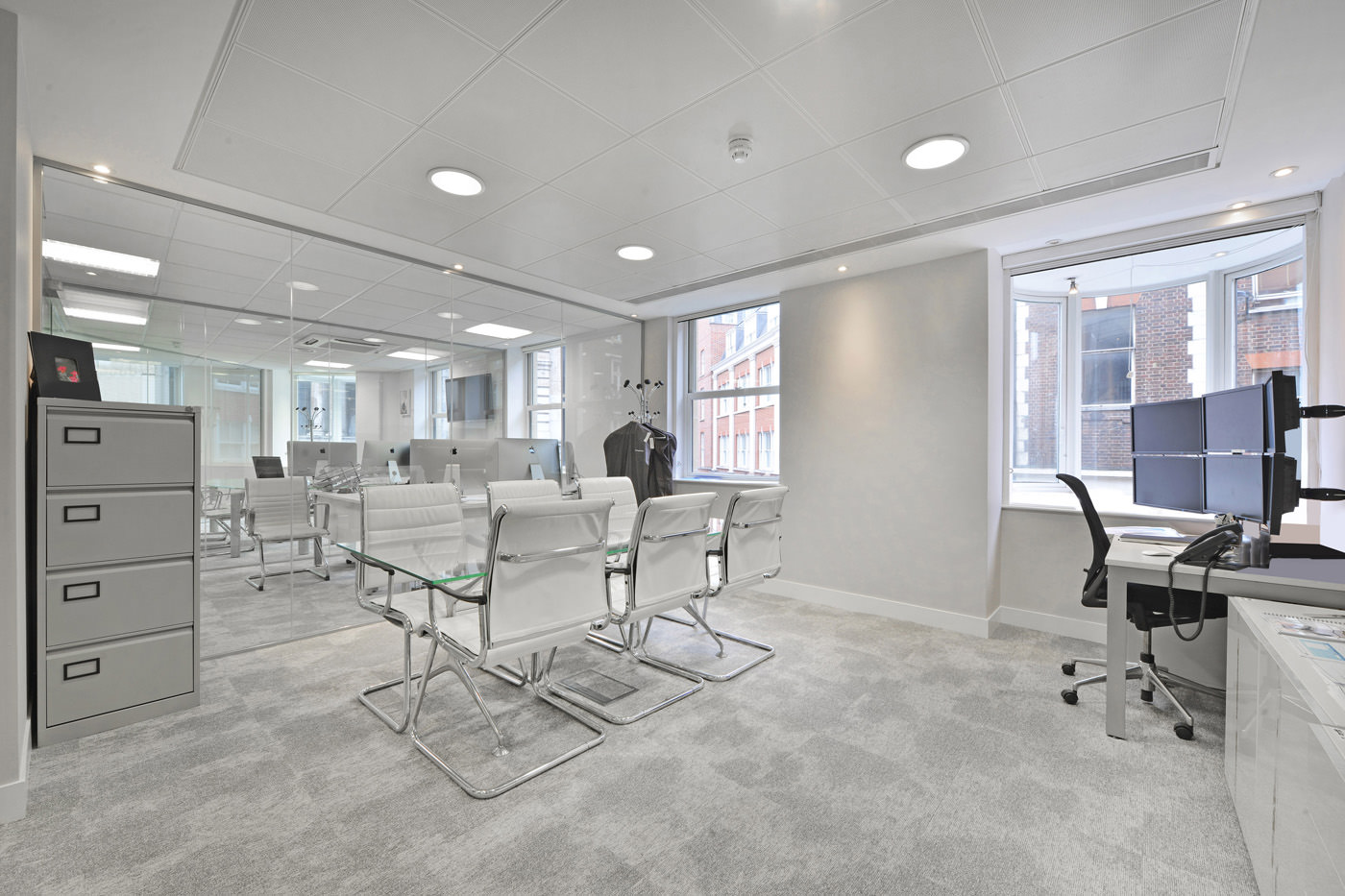Maddox Street Office Fit Out Mayfair Small Meeting Room
