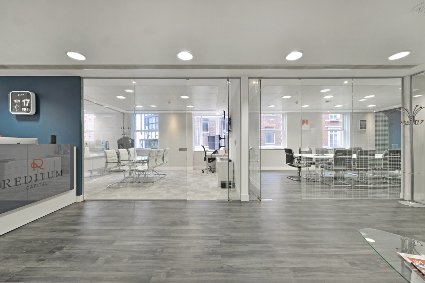 Maddox Street Office Fit Out Mayfair Glass Partitions