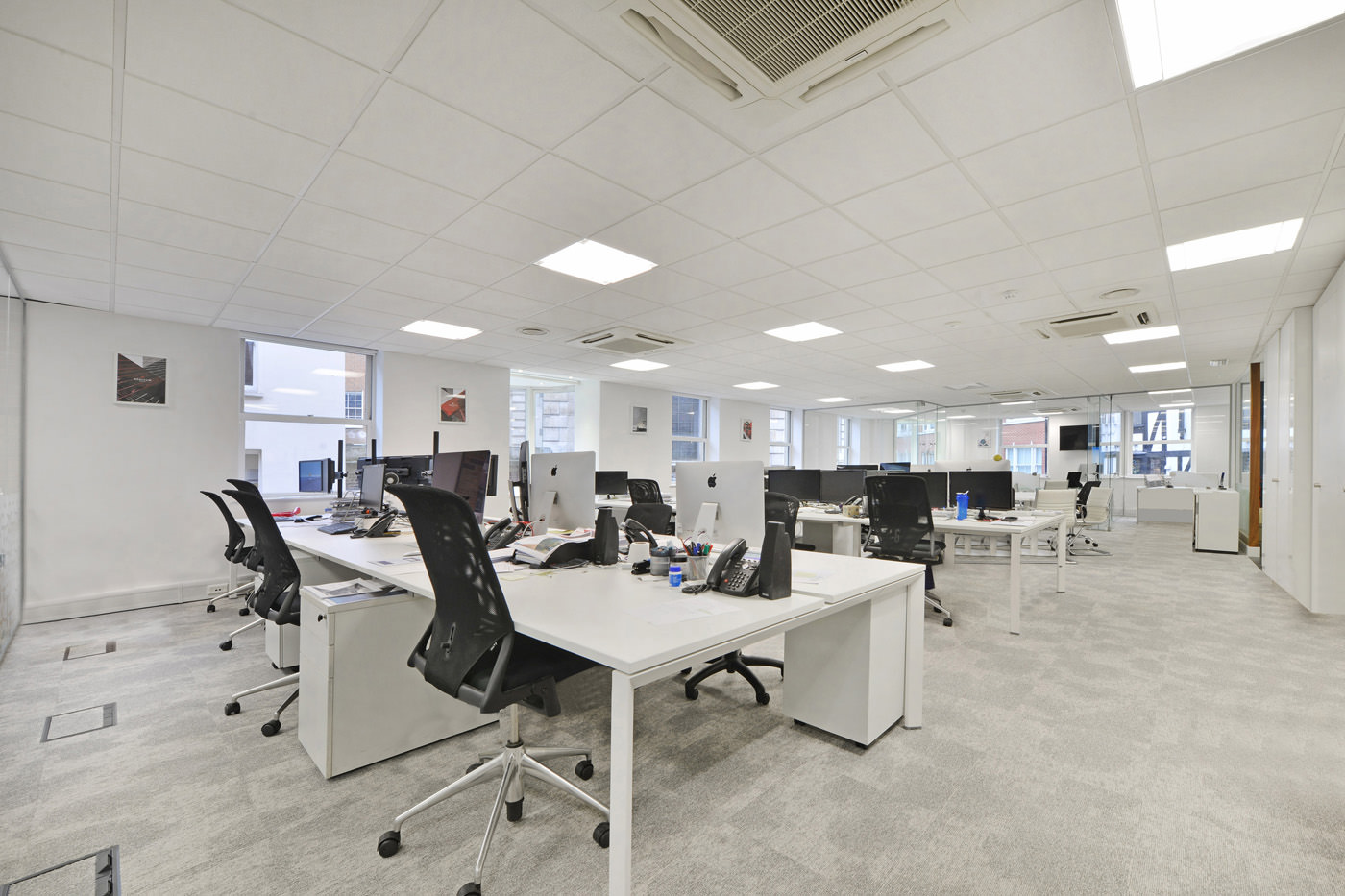 Maddox Street Office Fit Out Mayfair Office Area