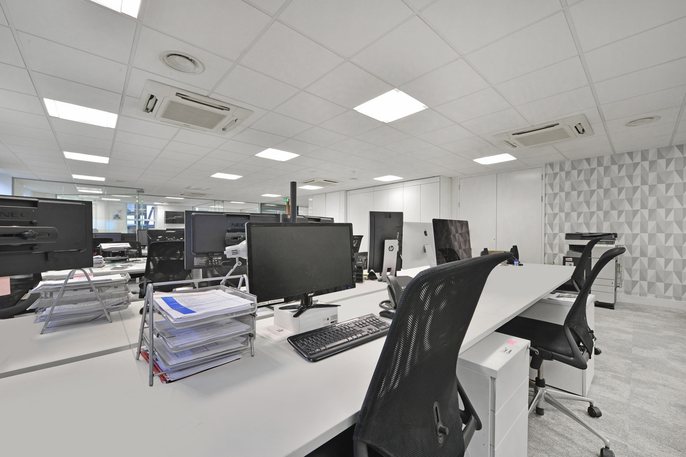 Maddox Street Office Fit Out Mayfair Desks