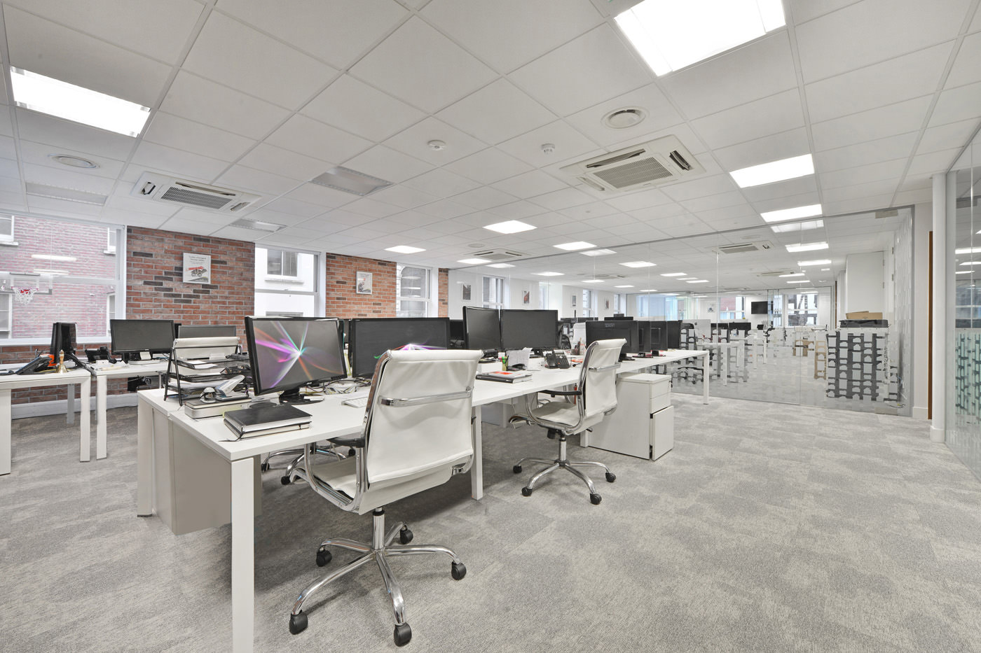 Maddox Street Office Fit Out Mayfair Communal Office Space