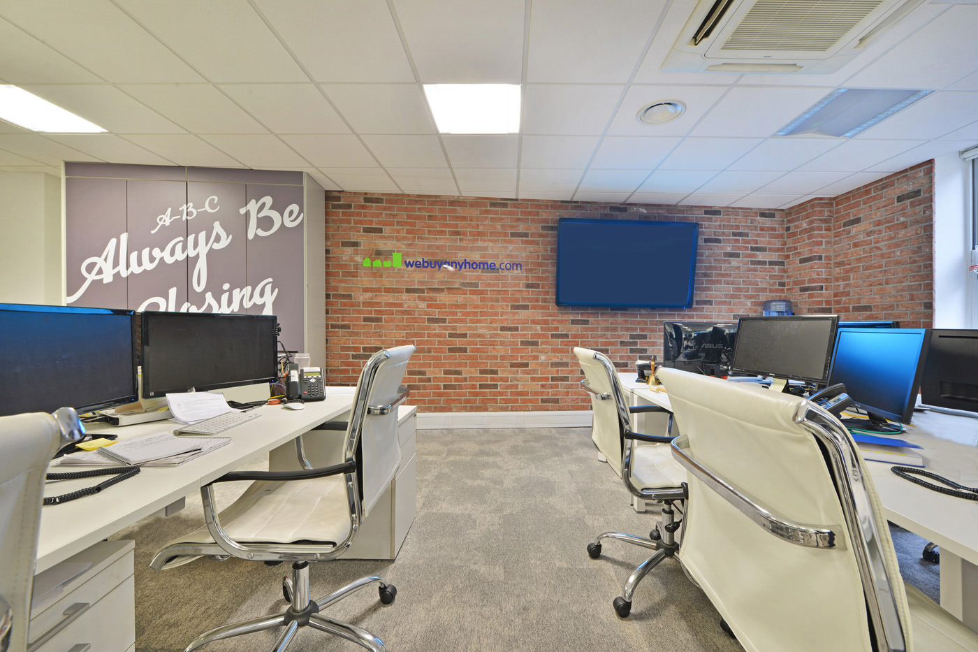 Maddox Street Office Fit Out Mayfair Communal Work Space