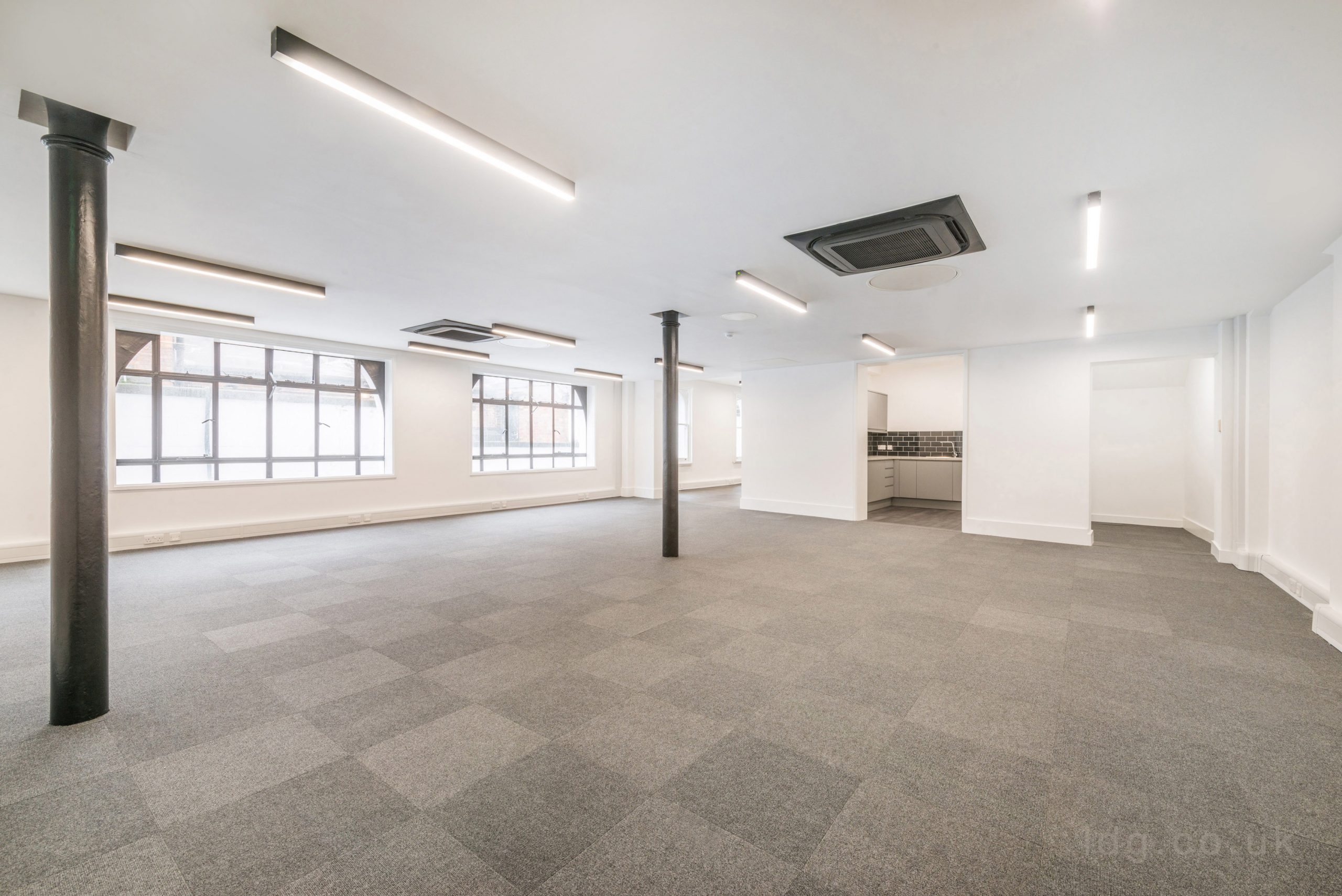 Flitcroft House Office Fit Out London Area