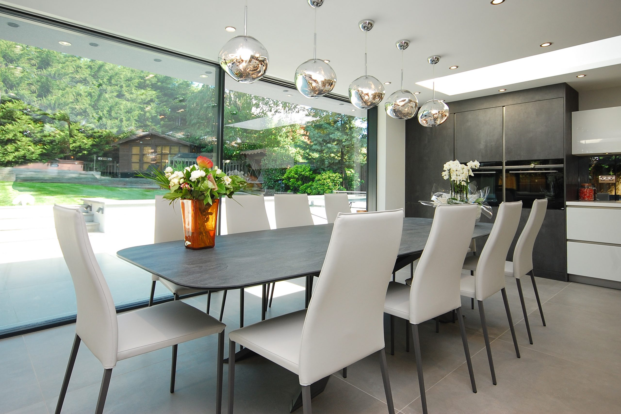 Chigwell Residential Refurb Extension Dining table