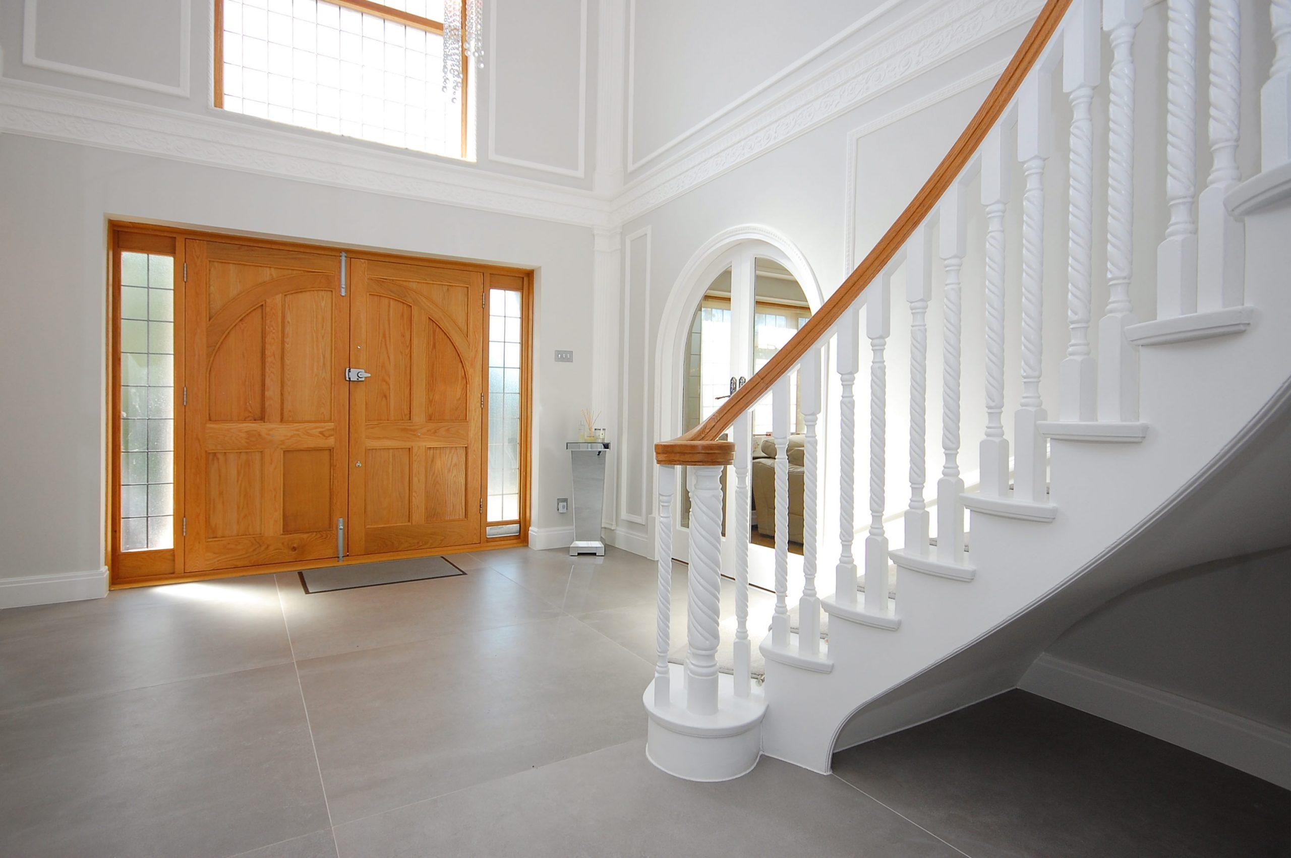 Chigwell Residential Refurb Extension Entrance Hallway