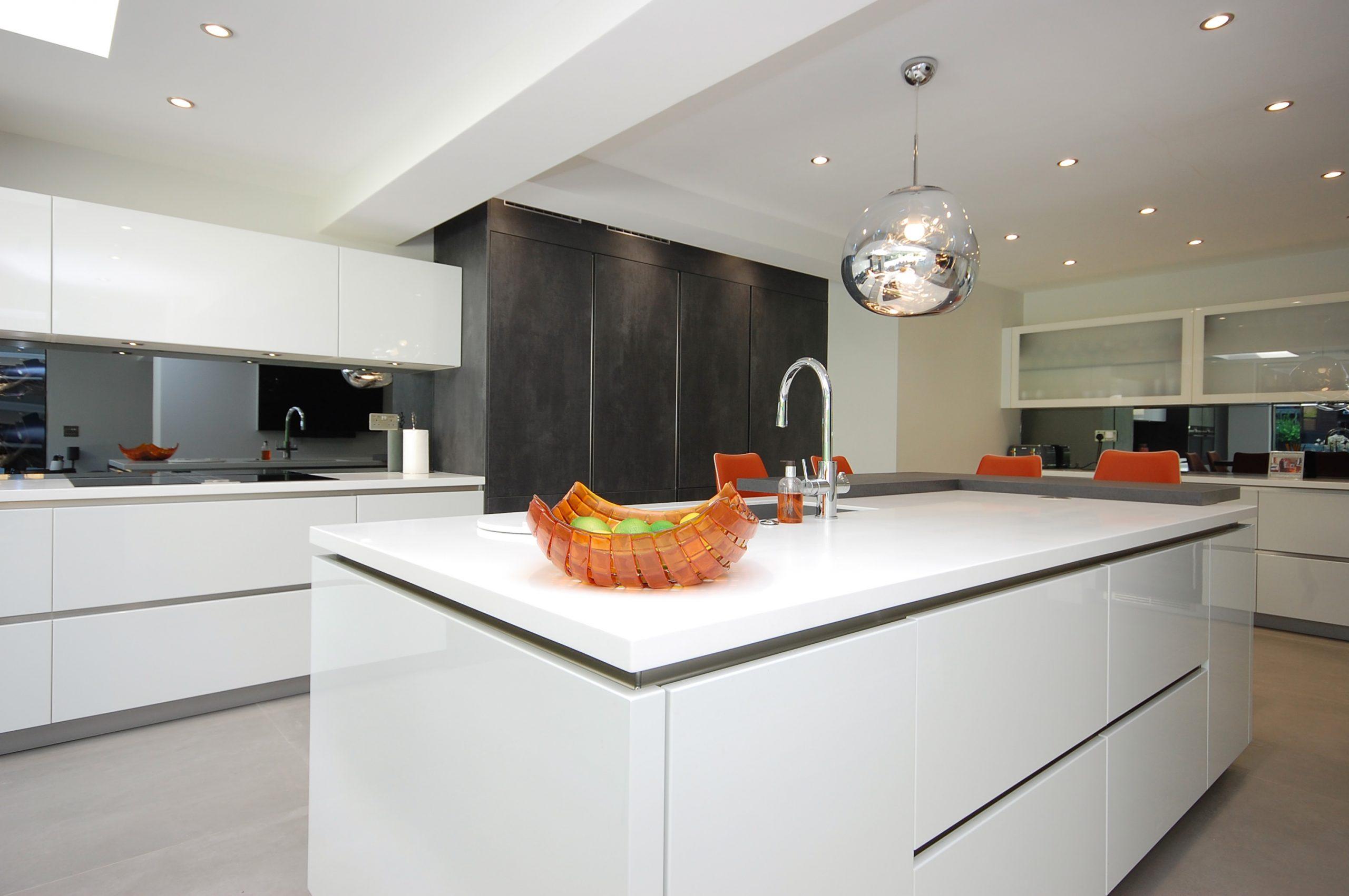 Chigwell Residential Refurb Extension Kitchen Island