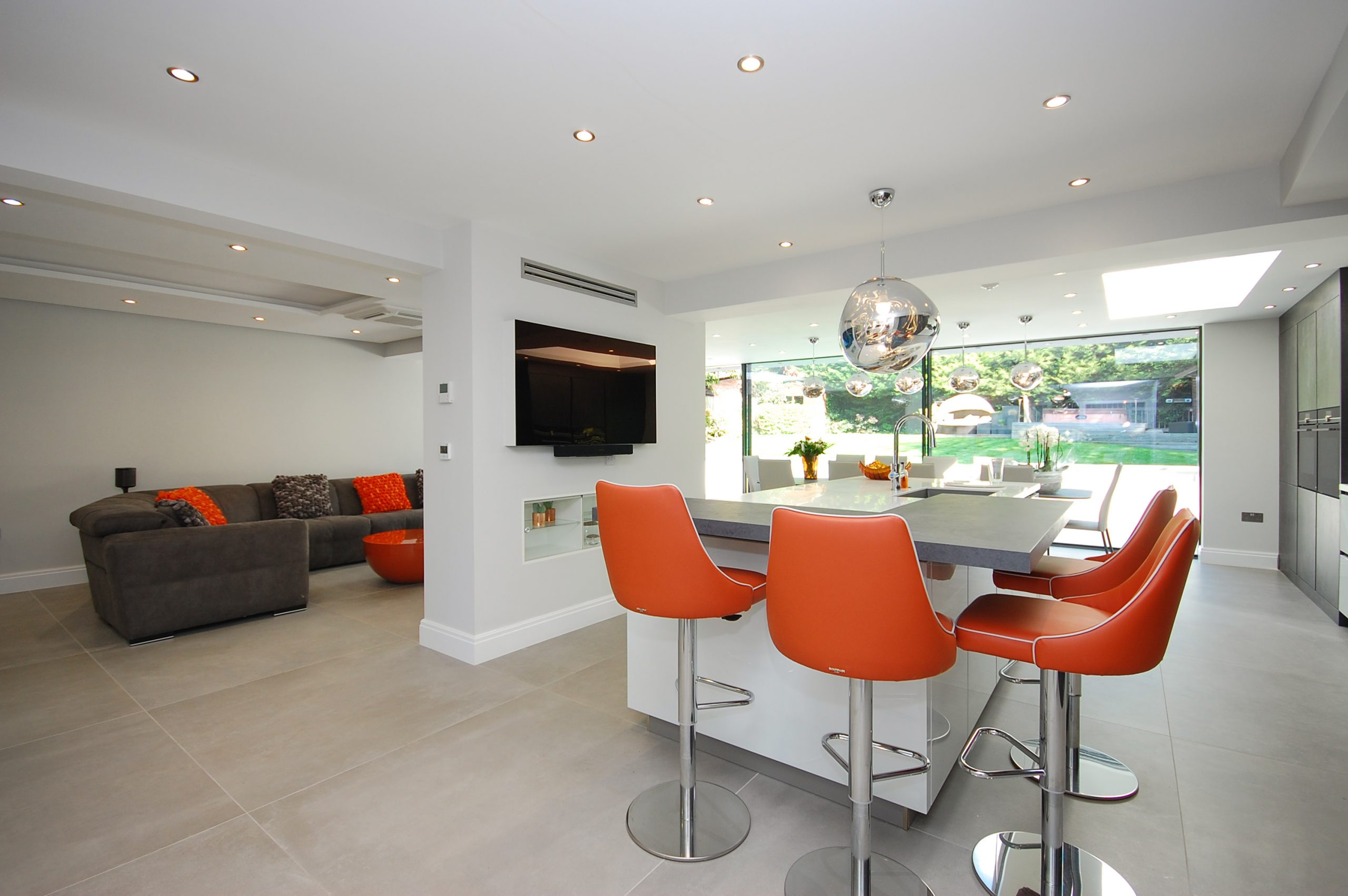 Chigwell Residential Refurb Extension Kitchen