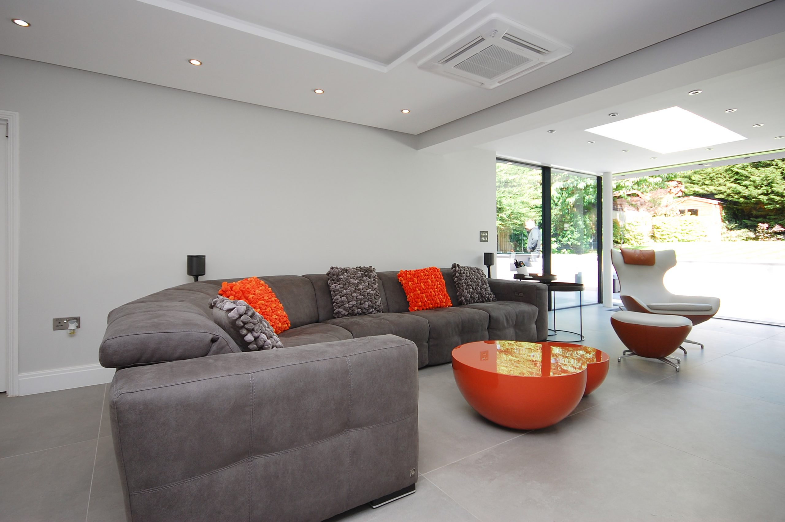 Chigwell Residential Refurb Extension Family Room